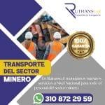 transporte sector minero